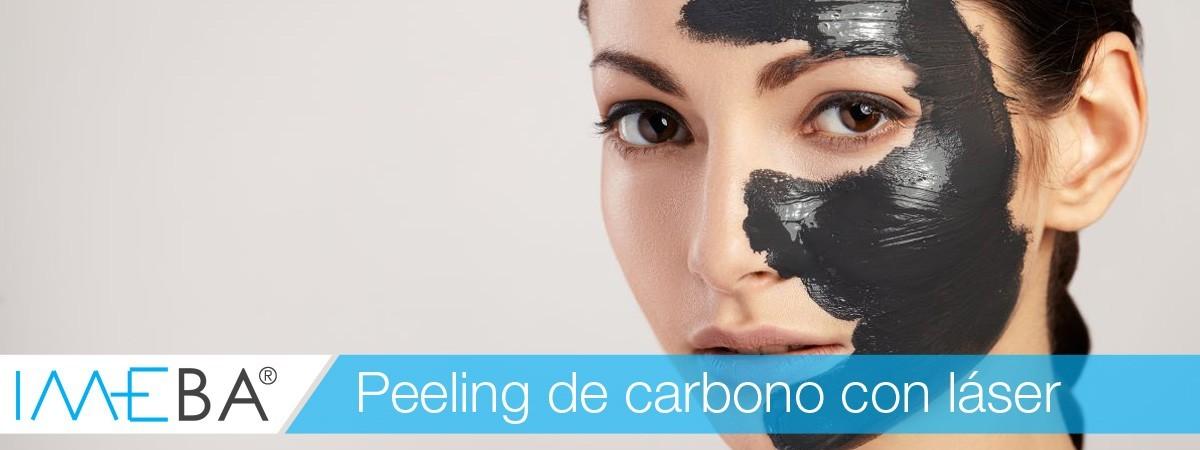 ¿Qué es el peeling de carbón activo? | Clínicas IMEBA Palma de Mallorca